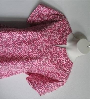 Gracie Shirt - Pink Flower Petals | Woven Fabrics
