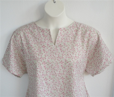 Gracie Shirt - Petite Pink Floral | Woven Fabrics