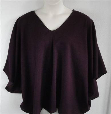 Kiley Side Opening Shirt - Plum | Side Opening Shirts