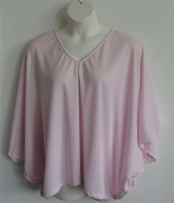 Kiley Side Opening Shirt - Light Pink Wickaway | Side Opening Shirts