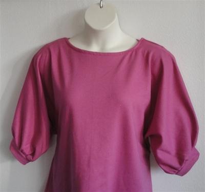 Pink Sweatshirt Post Surgery Shirt - Libby