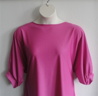 Libby Shirt - Bright Pink Wickaway | 3/4 Sleeve Shirts