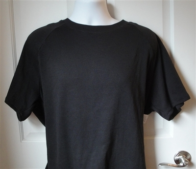 Unisex/Men Post Surgery Shirt - Black