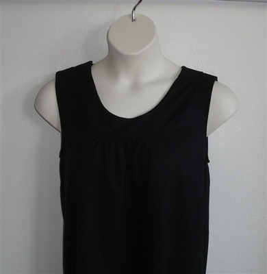 Sara Shirt - Black French Terry | Cotton/Rayon Blend