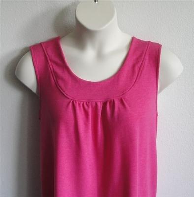Sara Shirt - Bright Pink French Terry | Cotton / Rayon