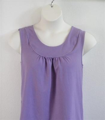 Lilac Cotton Post Surgery Shirt - Sara