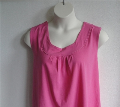 Pink Cotton Post Surgery Shirt - Sara