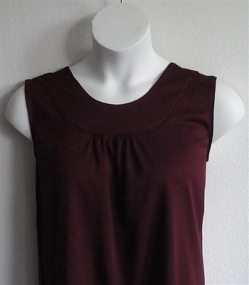 Burgundy Merlot Wickaway Adaptive Clothing Shirt - Sara
