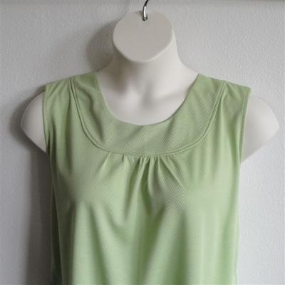 Lime Green Wickaway Adaptive Shirt - Sara