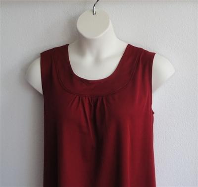 Sara Shirt - Dark Red Wickaway | Wickaway