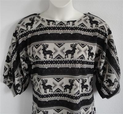 Jan Sweater - Black Moose Sweater Knit | Sweaters