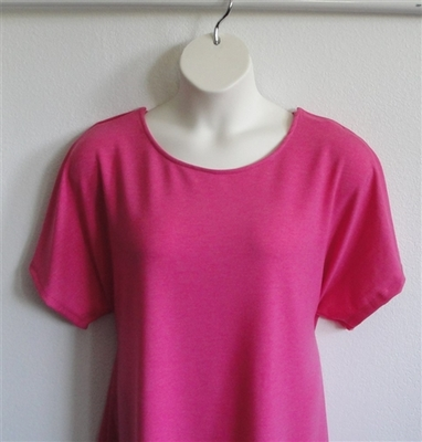 Bright Pink French Terry Post Surgery Shirt
