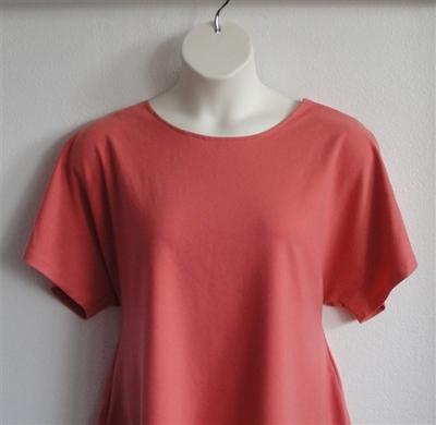Burnt Orange Wickaway Post Surgery Tracie Shirt