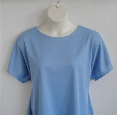 Light Blue Wickaway Post Surgery Tracie Shirt