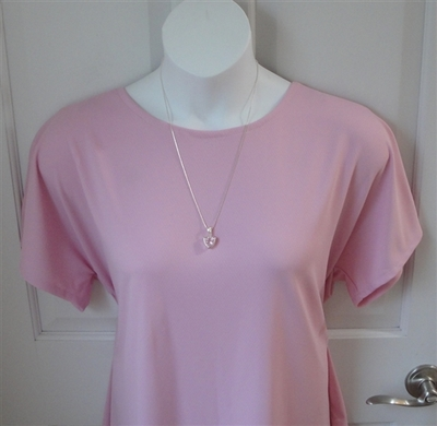 Light Pink Wickaway Post Surgery Tracie Shirt