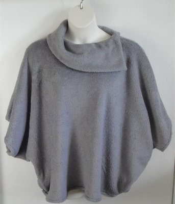 Steele Gray Fleece Side Opening Post Surgery Sweater - Emily