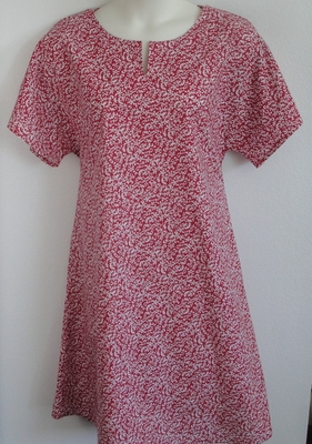 Red Vine Post Surgery Nightgown - Erin