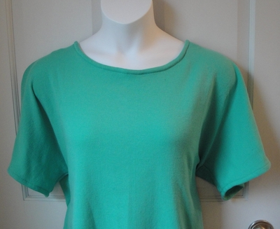 CLEARANCE --Tracie Shirt - Mint Green (SMALL ONLY)   Short Sleeve Shirts
