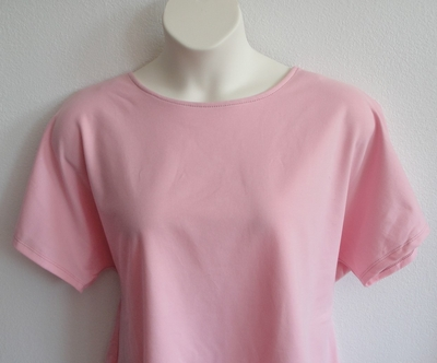 SECOND --Tracie Shirt - Lt. Pink French Terry (SMALL ONLY) #19 | Short Sleeve Shirts
