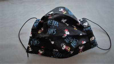 Snoopy Rebel with Paws Face Mask | Face Masks