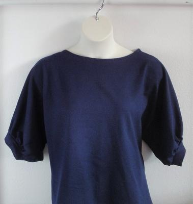 Libby Shirt - Navy Blue Wickaway | 3/4 Sleeve Shirts