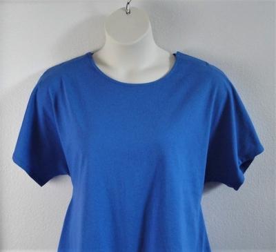 Black Cotton post surgery shirt for shoulder surgery
