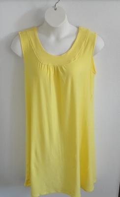 Mauve Cotton Knit Post Surgery Nightgown - Heidi