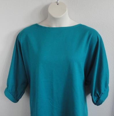 Libby Shirt - Teal Wickaway | 3/4 Sleeve Shirts