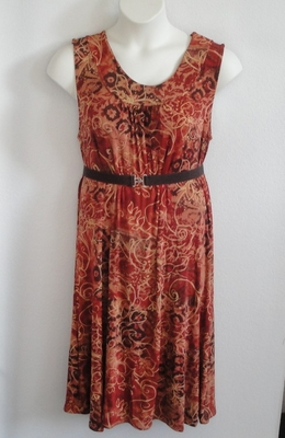 Dani Dress - Rust Batik | Dresses