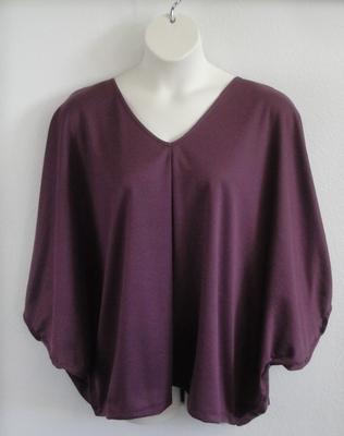 Kiley Side Opening Shirt - Grape Wickaway | Side Opening Shirts