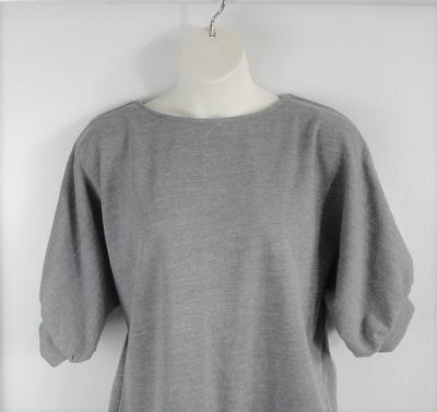 Libby Shirt - Gray Sweatshirt | 3/4 Sleeve Shirts