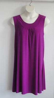 Heidi Nightgown -  Magenta Jersey | Sleeveless Gowns