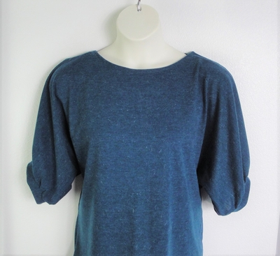 Jan Sweater - Teal Blue Mohair Sweater Knit (L & XL only) | Sweaters
