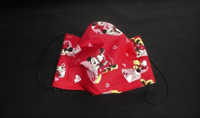 Red Heart M. Mouse Face Mask