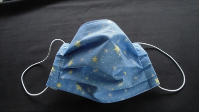 Blue Star Face Mask | Washable Face Masks