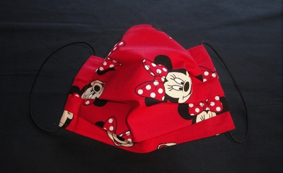 Red MM Mouse Face Mask | Washable Face Masks