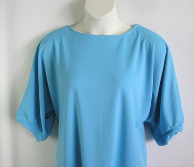 Libby Shirt - Light Blue Wickaway | 3/4 Sleeve Shirts