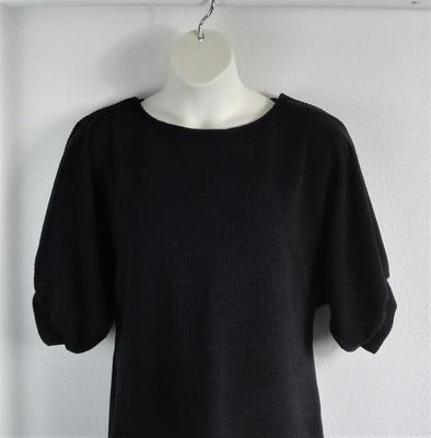 Libby Shirt - Black Polartec Fleece | 3/4 Sleeve Shirts