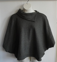 Image Katie Side Opening Shirt - Antique Green Cotton Twill Knit