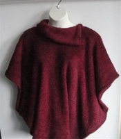 Image Emily Side Opening Sweater - Berry Chenille Fleece