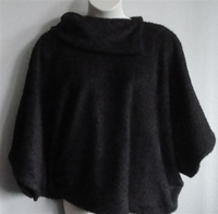 Image Emily Side Opening Sweater - Mocha Brown Chenille Fleece