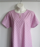 Image Erin Nightgown - Mauve Pink Calico