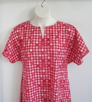 Image Erin Nightgown - Red Heart Circles