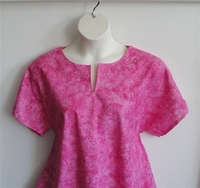 Image Gracie Shirt - Pink Wash Butterfly