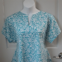 Image Gracie Shirt - Turquoise Floral