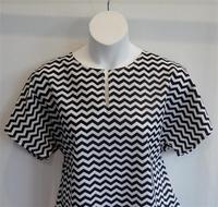 Image Gracie Shirt - Black Chevron