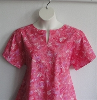 Image Gracie Shirt - Pink/Peach Butterfly