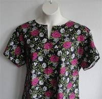 Image Gracie Shirt - Pink/Black Floral