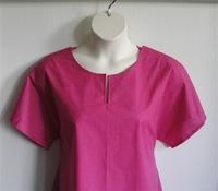 Image Gracie Shirt - Bright Pink Dot