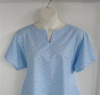 Image Gracie Shirt - Blue Mum Floral